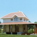 Проект дома из пеноблока № 53-70