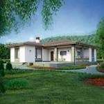 Проект дома из пеноблока № 56-72