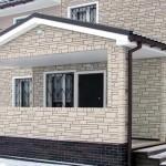 Фасадные панели: особенности и виды строительного материала
