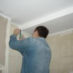 Подготовка потолка для окрашивания