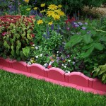Монолитный бордюр для цветника