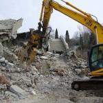 Снос зданий и необходимое оборудование