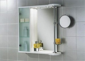 Форма зеркала для ванной