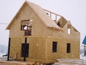Cтроительство домов из сип панелей
