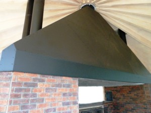 Вытяжной зонт для мангала