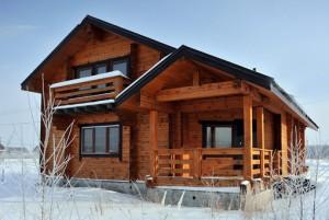 Отличные дачные дома из бруса
