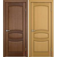 Межкомнатные шпонированные двери под орех
