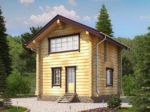 Применение лафета в строительстве домов