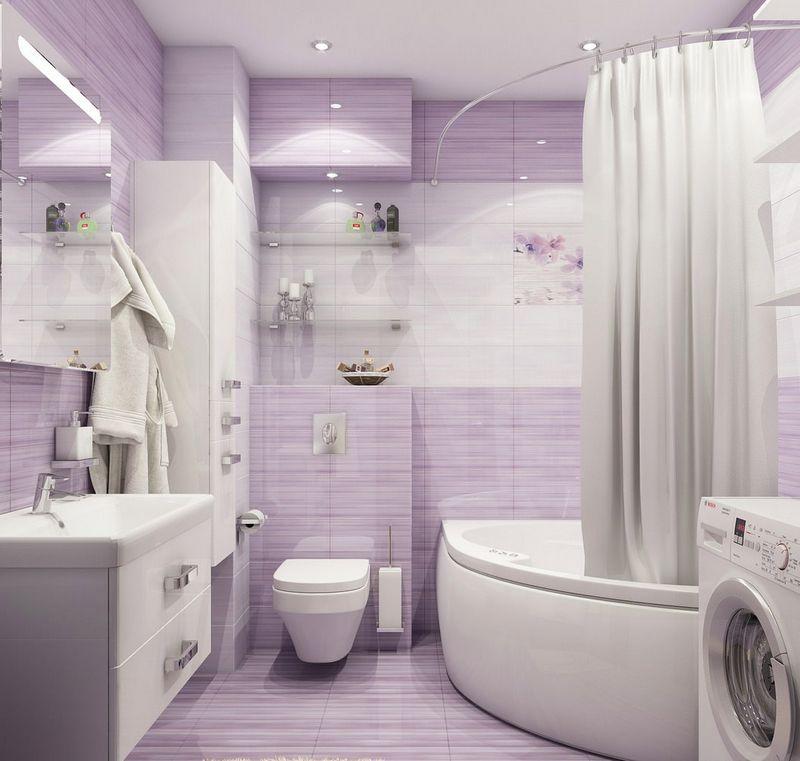 Обустройство миниатюрной ванной комнаты дома
