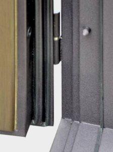 Двери с трехконтурным уплотнением