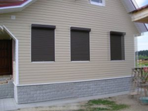 Противовзломные рольставни на окна и двери