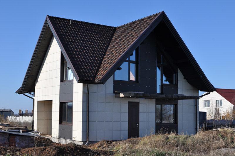 Керамогранитный вентилируемый фасад
