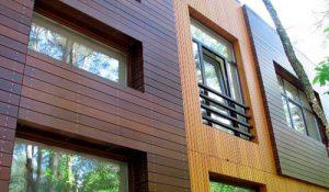 Выбор материала для внешней отделки дома из бруса