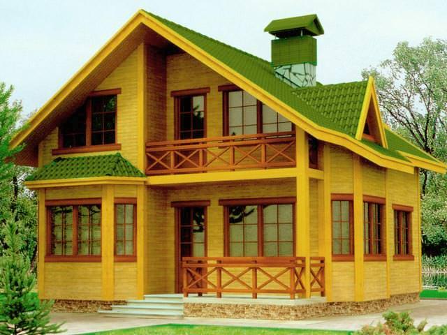 Как правильно расположить деревянный дом