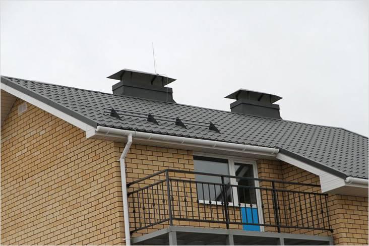 Водосточные системы для крыши