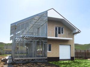 Особенности загородных домов из ЛСТК