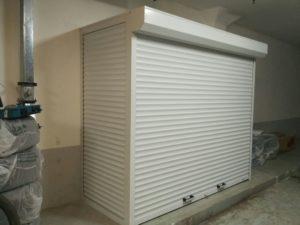 Шкафы с рольставнями для подземной парковки