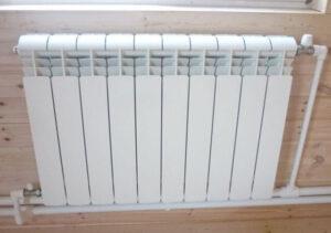Расположение отопительных радиаторов