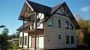 Какой материал является самым популярным при строительстве домов